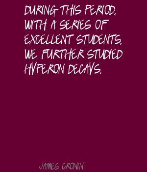 James Cronin's quote #1
