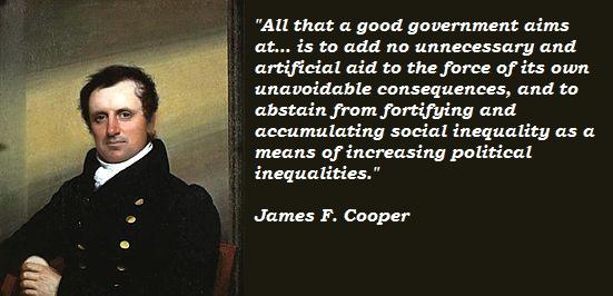 James F. Cooper's quote #6