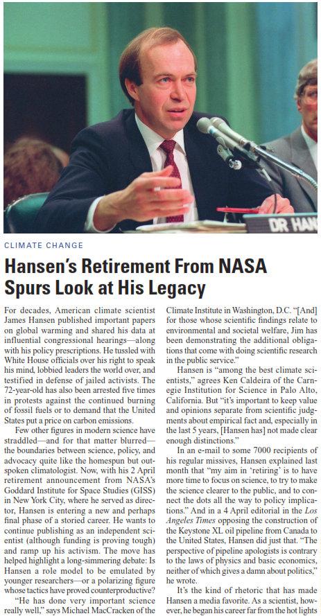 James Hansen's quote #6
