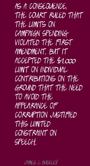 James L. Buckley's quote #1