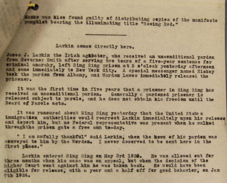 James Larkin's quote #2