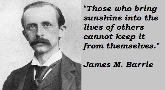 James M. Barrie's quote #8