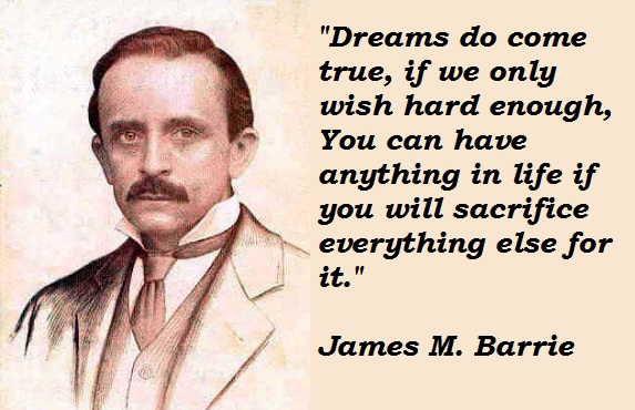 James M. Barrie's quote #6
