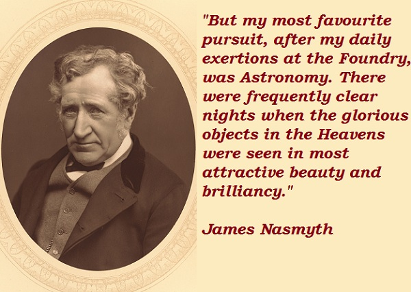 James Nasmyth's quote #1