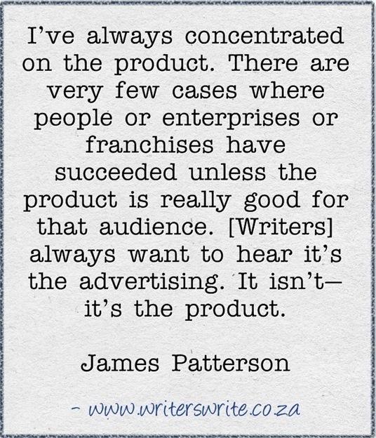 James Patterson's quote #2