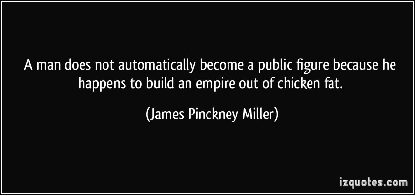 James Pinckney Miller's quote #1