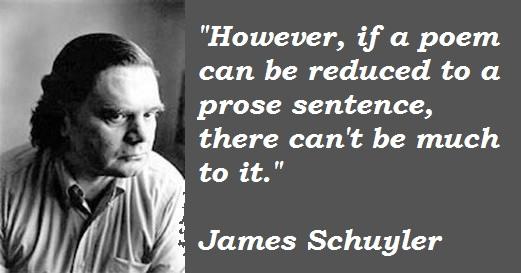 James Schuyler's quote #1