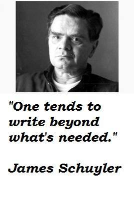 James Schuyler's quote #3