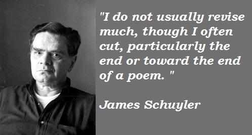 James Schuyler's quote #5
