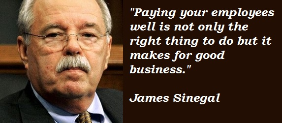 James Sinegal's quote #3