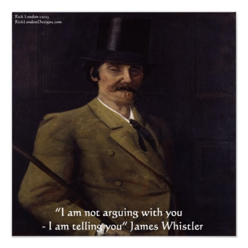 James Whistler's quote #1