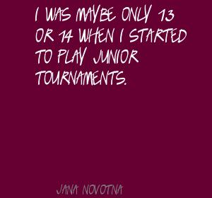 Jana Novotna's quote #2
