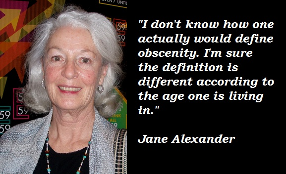 Jane Alexander's quote #4