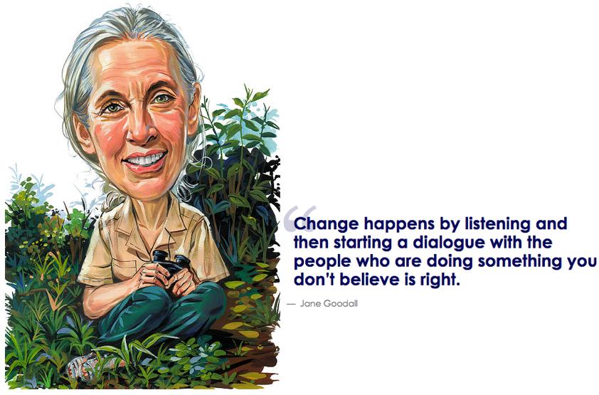 Jane Goodall's quote #2