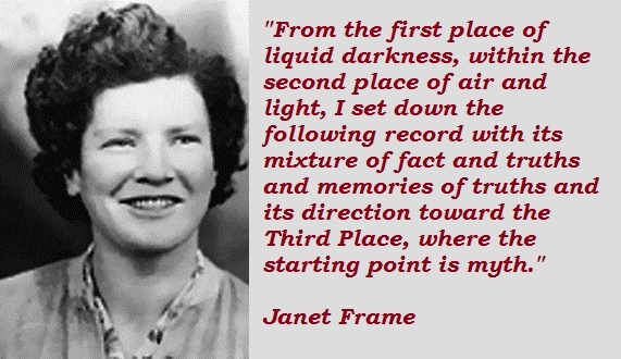 Janet Frame's quote #6