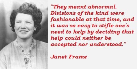 Janet Frame's quote #5