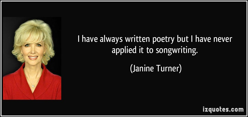 Janine Turner's quote #1