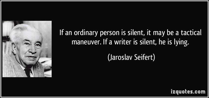 Jaroslav Seifert's quote #1