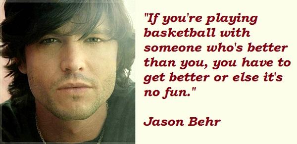 Jason Behr's quote #1