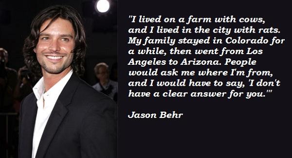 Jason Behr's quote #2
