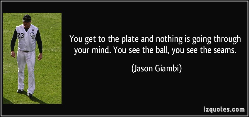 Jason Giambi's quote #7