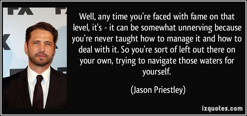 Jason Priestley's quote #4