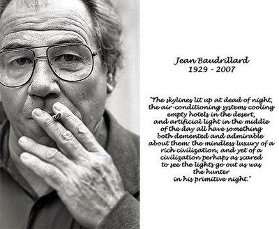 Jean Baudrillard's quote #8
