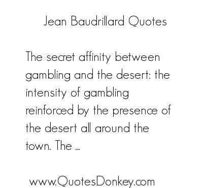 Jean Baudrillard's quote #5