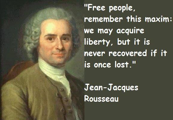 Jean-Jacques Rousseau's quote #7