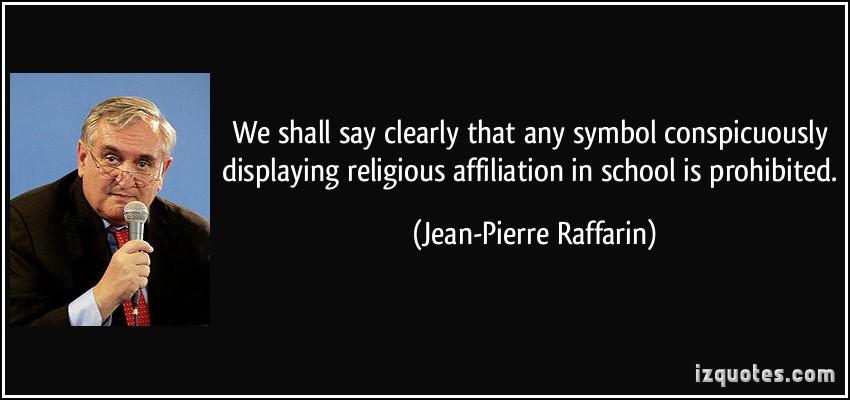 Jean-Pierre Raffarin's quote #7