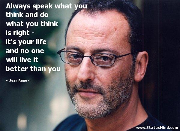 Jean Reno's quote #3