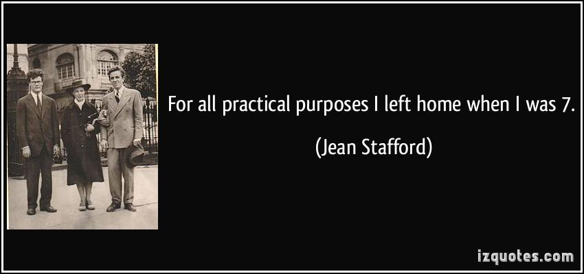 Jean Stafford's quote #2