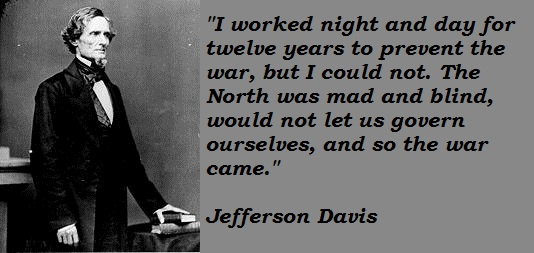 Jefferson Davis's quote #5