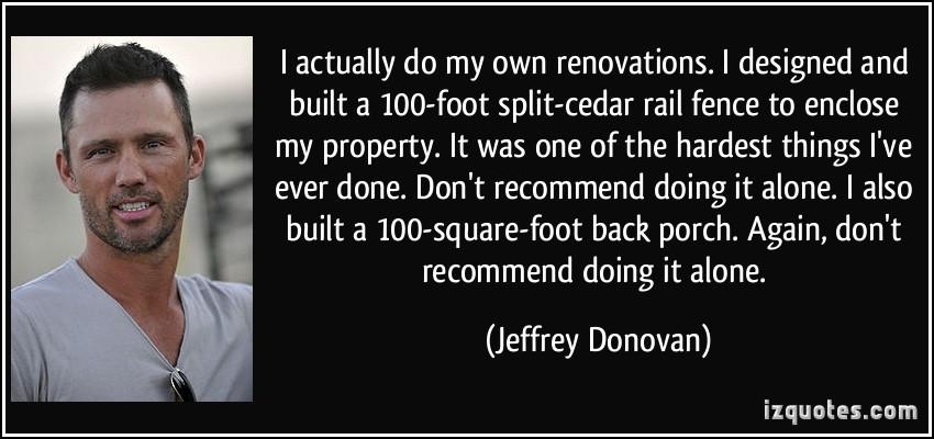 Jeffrey Donovan's quote #4