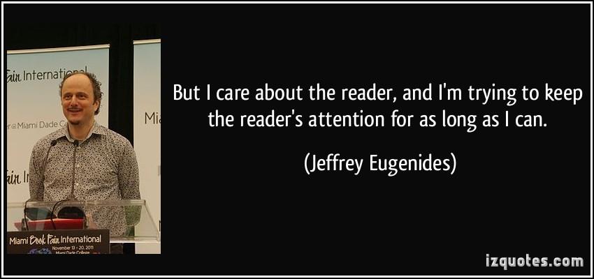 Jeffrey Eugenides's quote #6