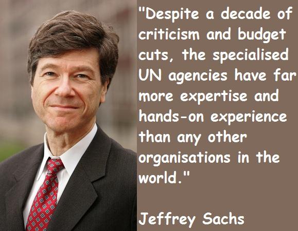 Jeffrey Sachs's quote #6