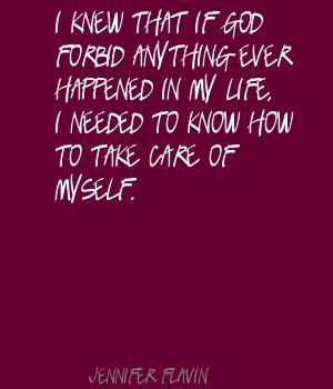 Jennifer Flavin's quote #2