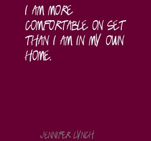 Jennifer Lynch's quote #2