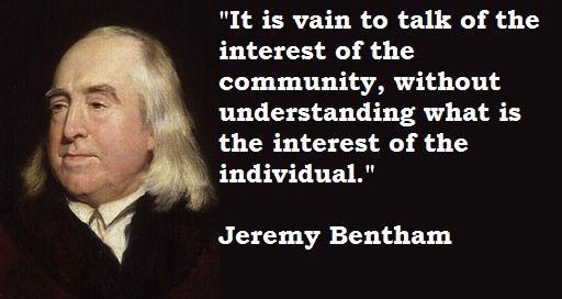 Jeremy Bentham's quote #7