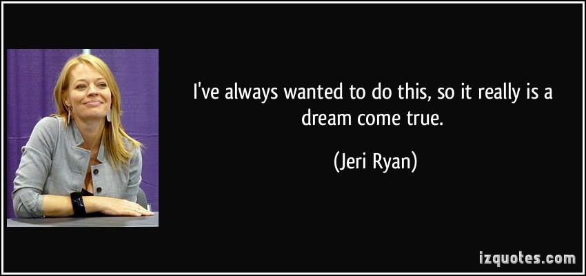 Jeri Ryan's quote #1