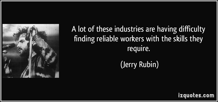Jerry Rubin's quote #2