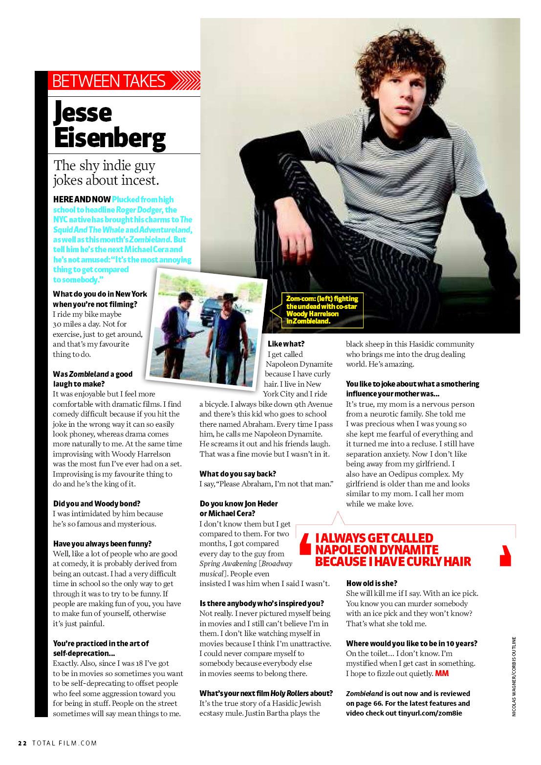 Jesse Eisenberg's quote #2