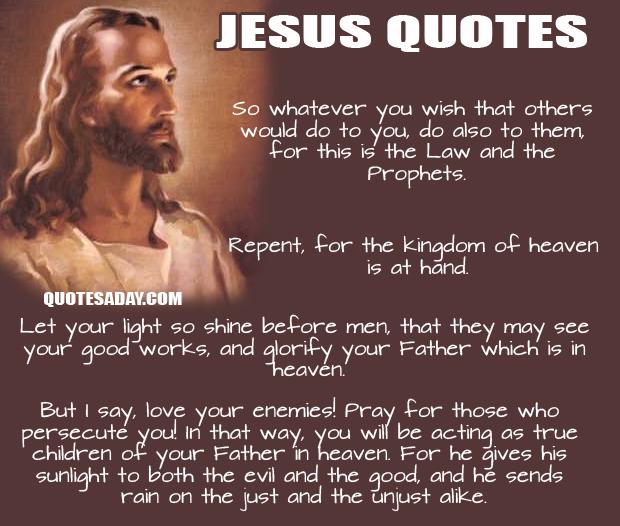 Jesus quote #3