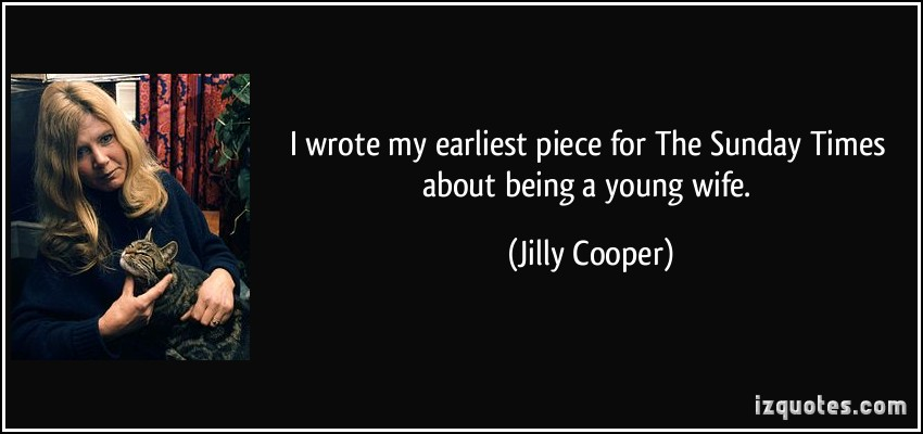 Jilly Cooper's quote #4
