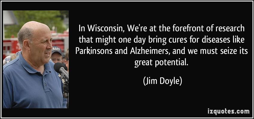 Jim Doyle's quote #1