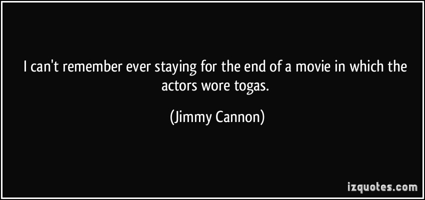Jimmy Cannon's quote #1