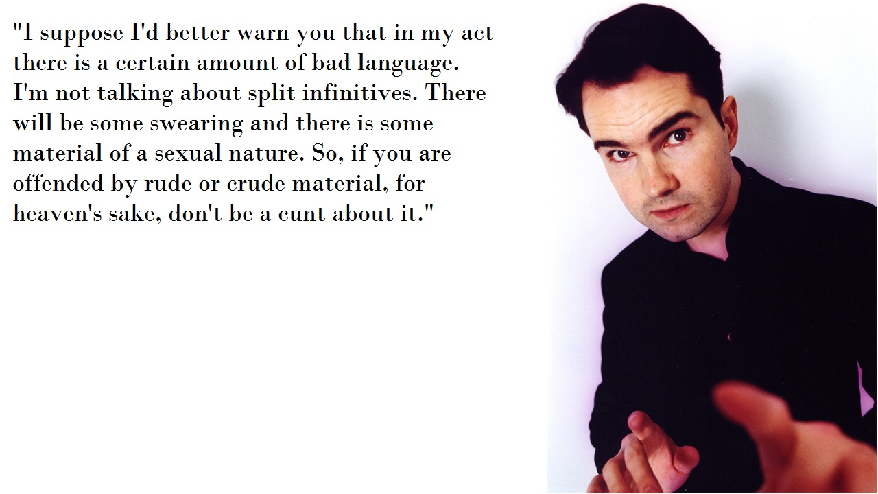 Jimmy Carr's quote