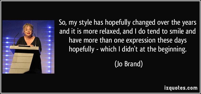 Jo Brand's quote #8
