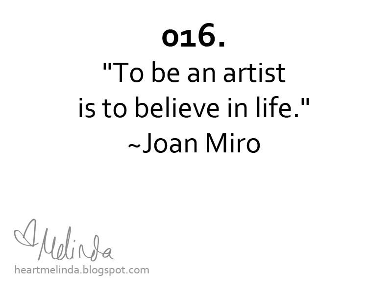 Joan Miro's quote #3