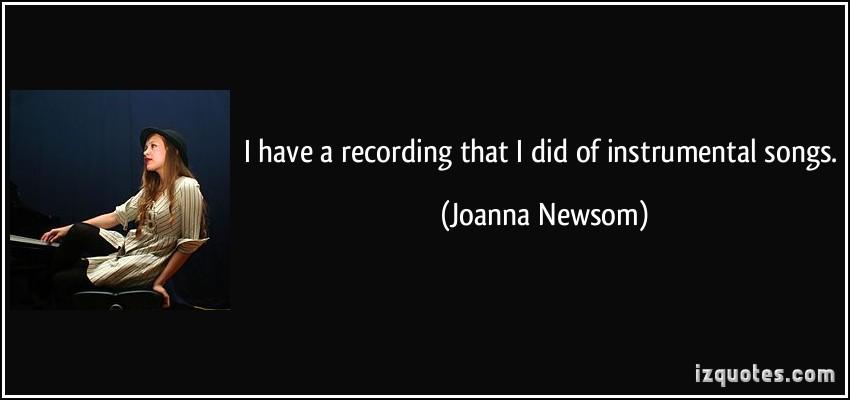 Joanna Newsom's quote #7